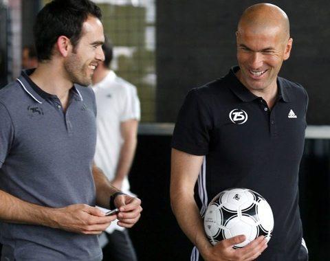 Thibault et Zidane